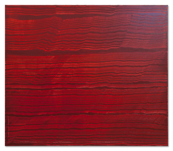 Oil on linen 71 x 82 inches