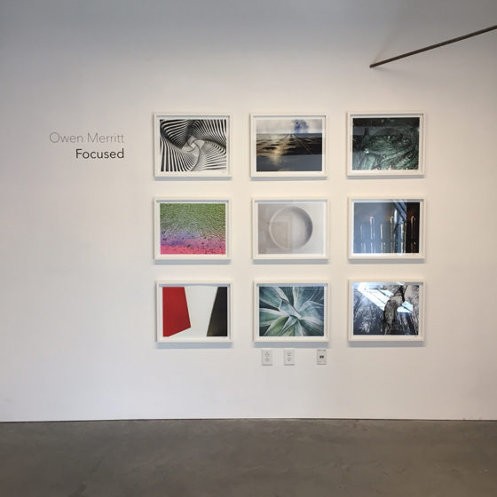 """""""Focused"""" by Owen Merritt curated by Themes+Projects gallery. On view in gallery space #201 in the Minnesota Street Project."""