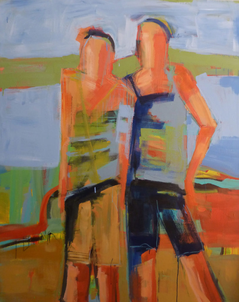 Acrylic on canvas, 48 x 60